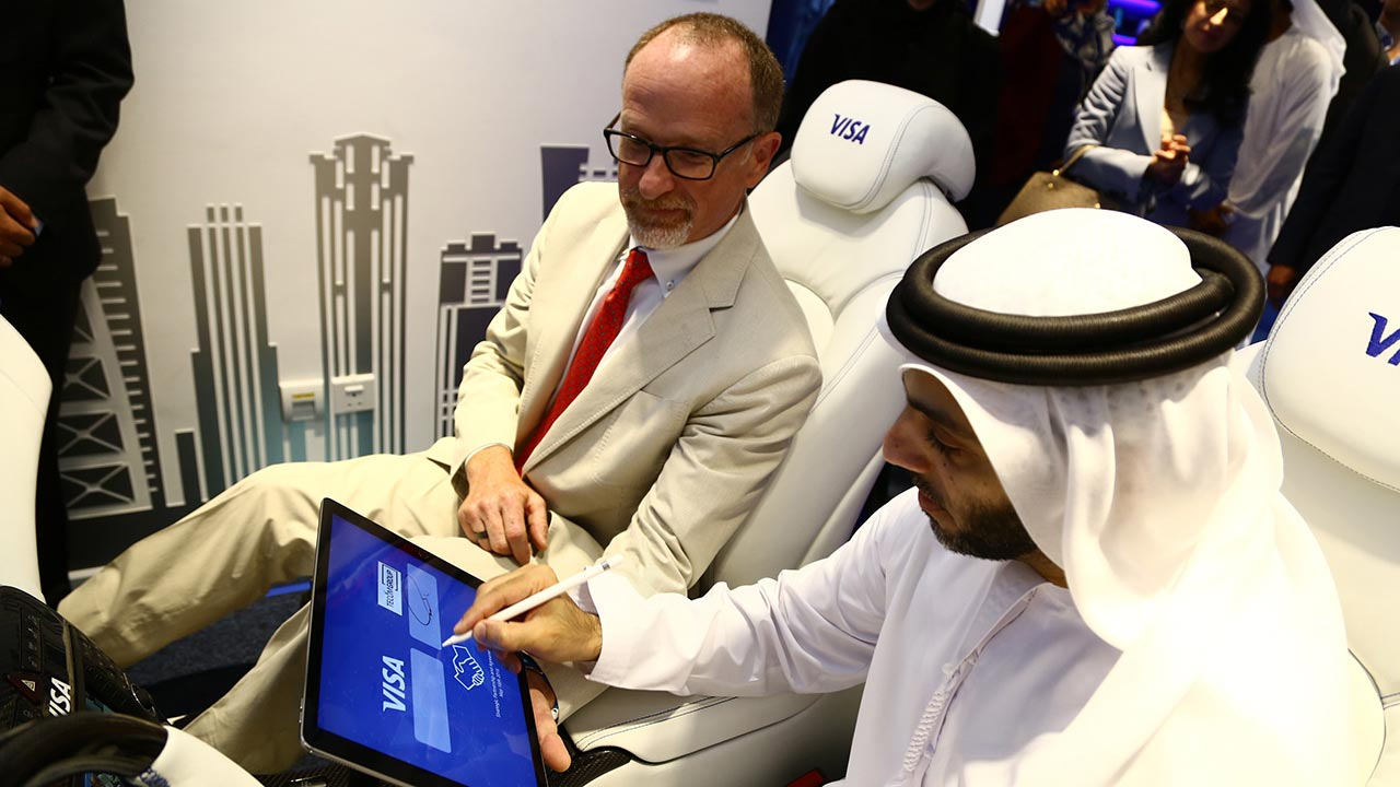 visa launches innovation center in dubai